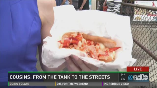 Cousins Maine Lobster hits Sacramento streets