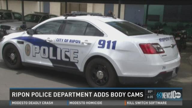 Ripon police will start wearing body cameras