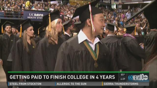 Sac State president wants to pay students to finish school