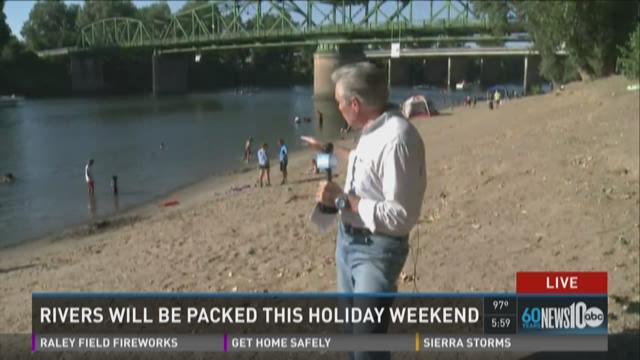 Firefighters urge caution over dangerous river weekend
