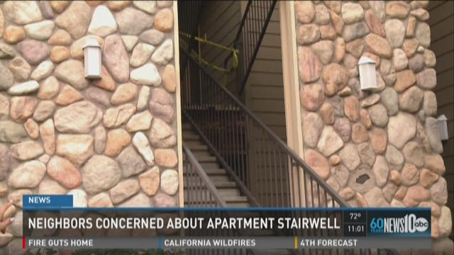 Man killed in Folsom stair collapse, year after previous incident