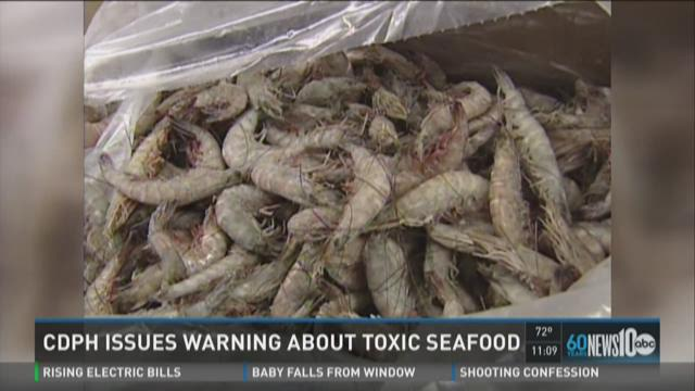 State issues warning about toxic seafood