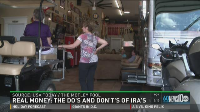 Real Money: The do's and don't's of IRA's