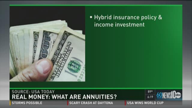 Real Money: What are annuities?