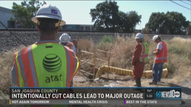 Severed Phone Line Disrupts Central Valley Wireless Landline Calls