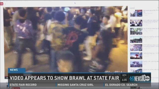 Video shows brawl at State Fair