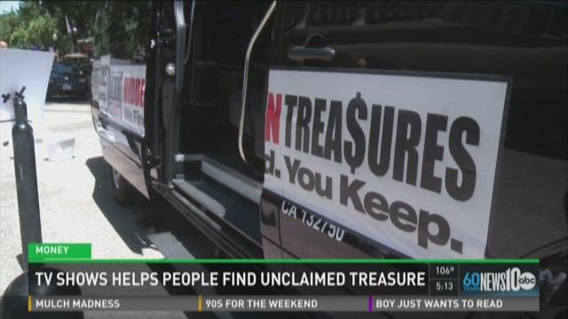 TV show helps people find unclaimed treasure