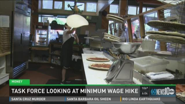 Task Force looks at minimum wage in Sacramento