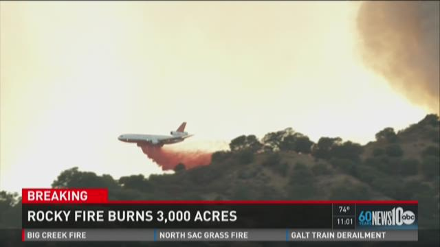 Air Tankers help by time for grounds when battling wildfires