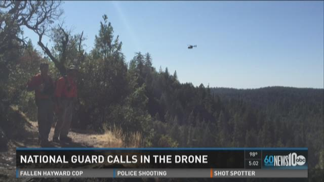 National Guard using drone to search for missing teacher