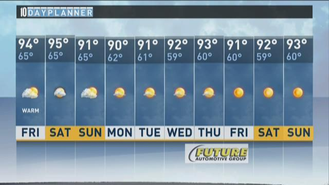 Local A.M. forecast: July 31, 2015