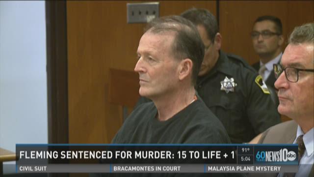 Orville Fleming sentenced for murder of Sarah Douglas