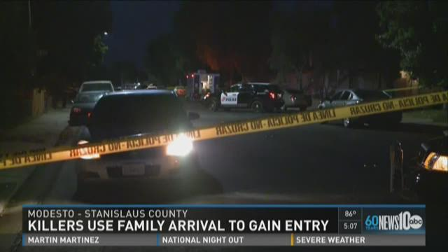 Police: Killers used family's arrival to get into home