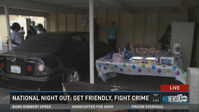 National Night Out: Get friendly and fight crime