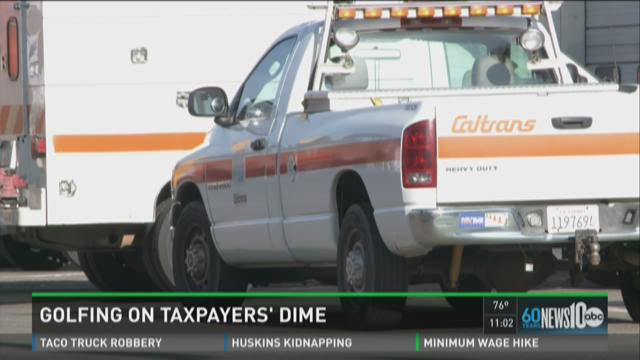 Caltrans employee played golf during work hours
