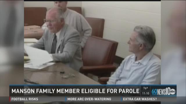 Mason Family member eligible for parole