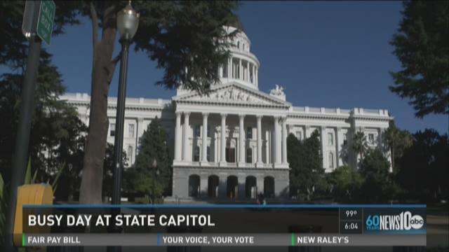 Bills pass, fail at California state Capitol