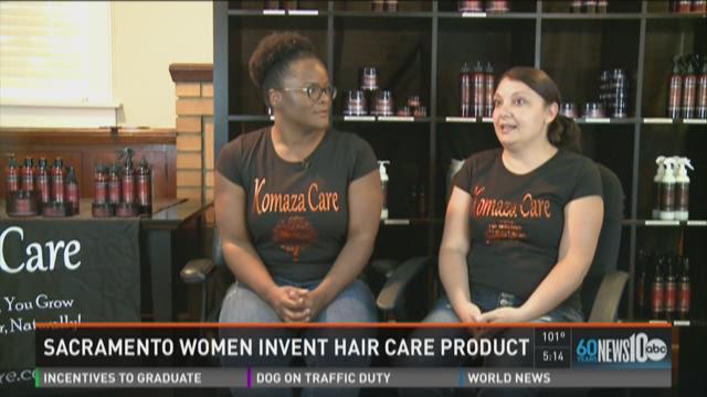Sacramento women invent hair care product