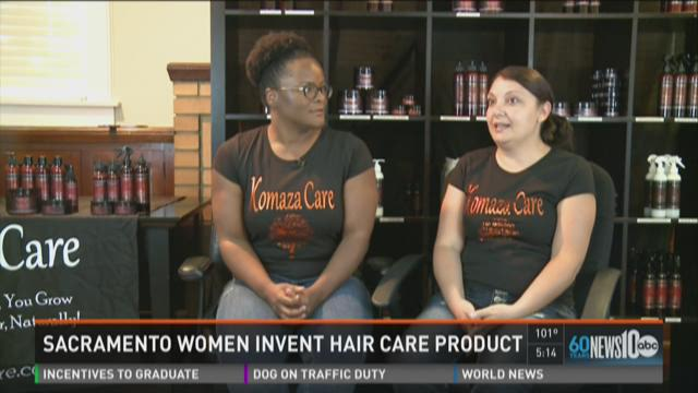 Sacramento women invent hair care product
