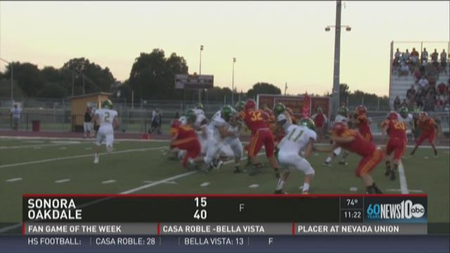 Week 0: Sonora at Oakdale