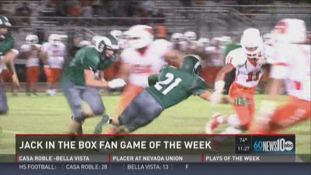 Week 0: Jack in the Box Fan Game of the Week – Woodland at Dixon