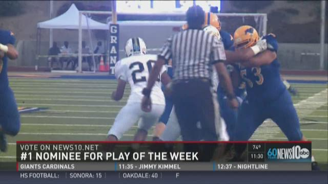 Play of the Week nominees for Week 0