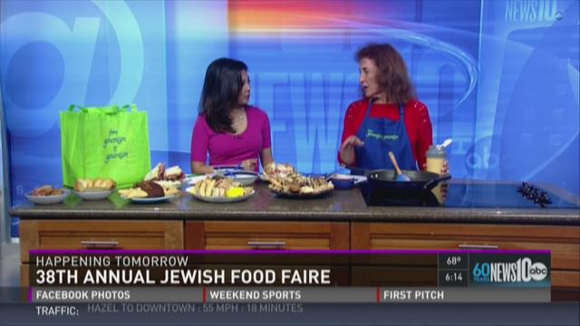 Come hungry to the Jewish Food Faire!