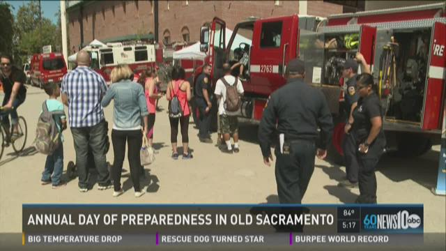 Annual Day of Preparedness held in Old Sacramento