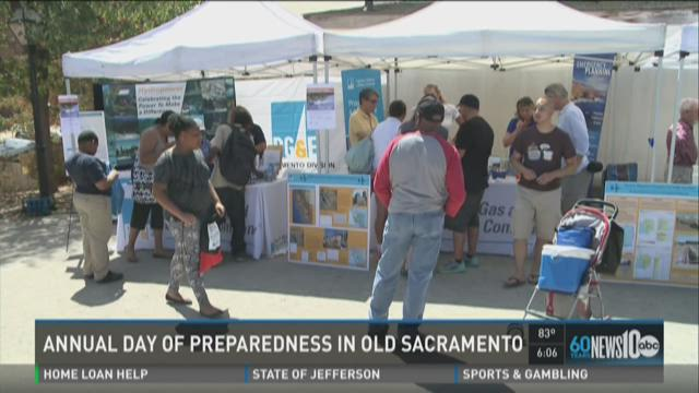 Annual day of preparedness in Old Sacramento