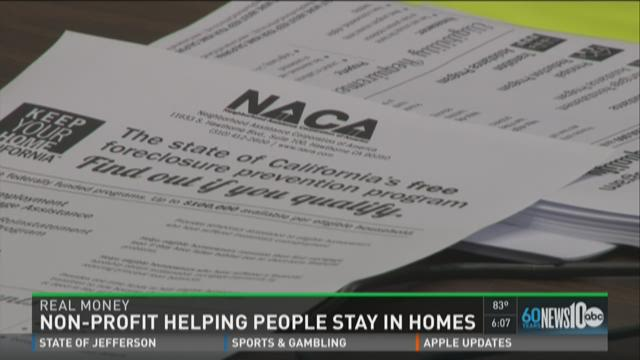 Non-profit helping people stay in homes