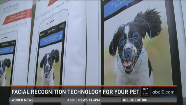 Facial recognition technology now for your pets