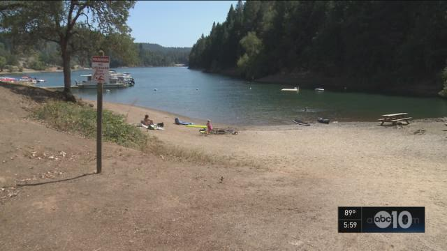 A family enjoying a reunion at a Nevada County campsite had to leave in the middle of the night because of racially charged threats made by a man in the neighboring campsite. (Tuesday, Sept. 1, 2015)