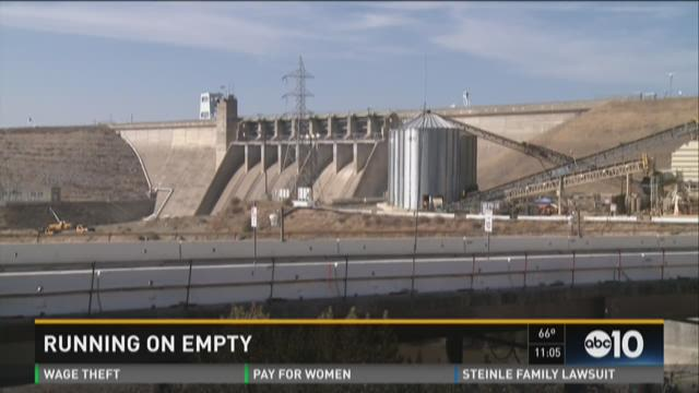 Folsom Dam flow to be reduced