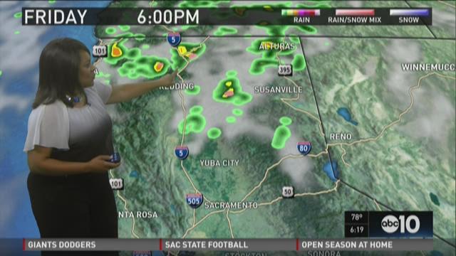 Sacramento area evening weather forecast for Wednesday, Sept. 2, 2015