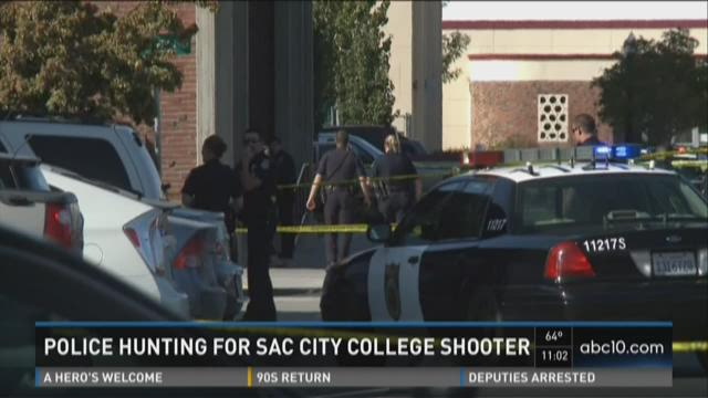 Police hunting for Sac City College shooter