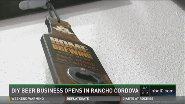 DIY beer business opens in Rancho Cordova