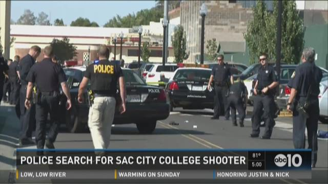 Police search for Sac City College shooter