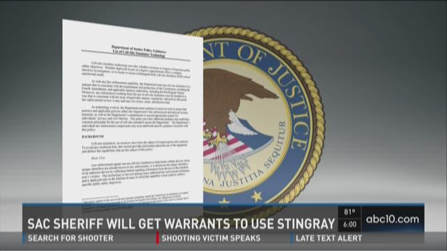 Sac Sheriff will get warrants to use Stingray