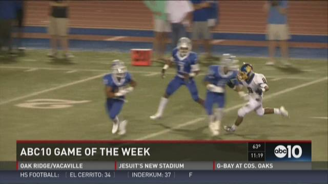 Game of the Week for Week 1: Del Campo at Rocklin