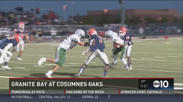 Week 1: Granite Bay at Cosumnes Oaks