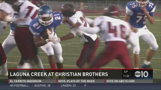 Week 1: Laguna Creek at Christian Brothers