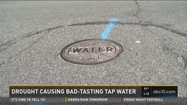 The Utilities Department said complaints have doubled from prior years about the taste and smell of Sacramento's tap water.