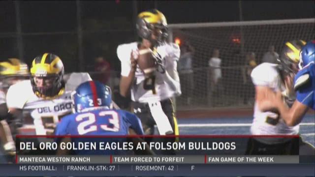 Del Oro Golden Eagles at Folsom Bulldogs