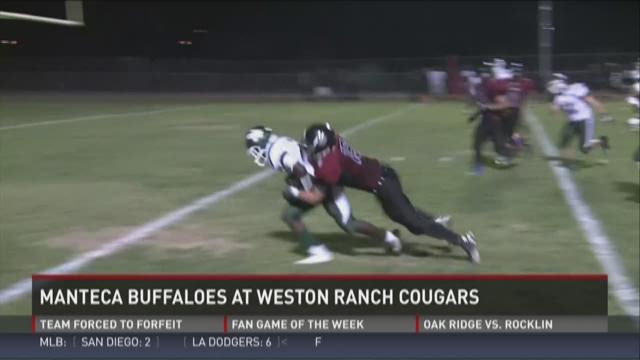 Manteca Buffaloes at Weston Ranch Cougars