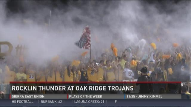 Rocklin Thunder at Oak Ridge Trojans