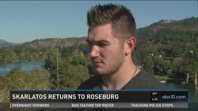 Skarlatos returns to Roseburg