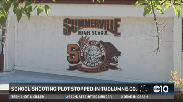 School shooting plot stopped in Tuolumne County