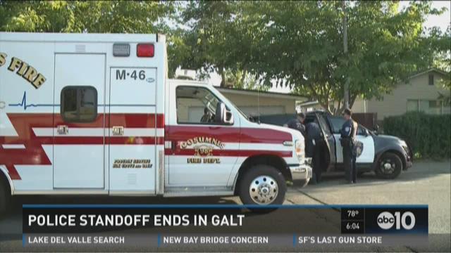 Police standoff ends in Galt