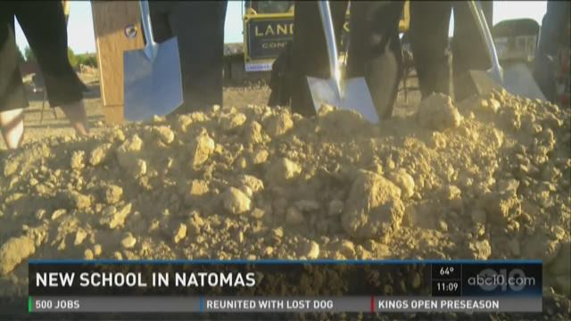 New school breaks ground in Natomas