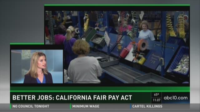 Better Jobs: California Fair Pay Act